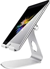 Iceberg Makers.in Tablet Stand Adjustable Stand : Desktop Stand Holder Dock for New iPad Pro 9.7, 10.5, Air Mini 2 3 4, Kindle, iPhone, Accessories, Tab, E-Reader, Other Tablets (4-13 inch) (SL)