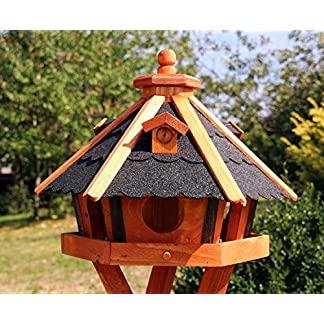 holzdekoladen Type 23 different colours white and coloured also Solar Bird Feeder with Stand 61h586MhxjL