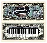 Set Of 25 Keyboards Million Dollar Bill