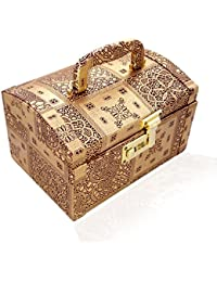RS Jewels Handmade Wooden Makup / Vanity /Jewellery Box For Women