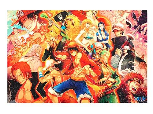 CoolChange One Piece Puzzle, 1000 Teile, Motiv: Ruffy\'s Abenteuer