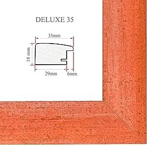 DELUXE35 Bilderrahmen 76x107 cm oder 107x76 cm Foto//Galerie//Posterrahmen
