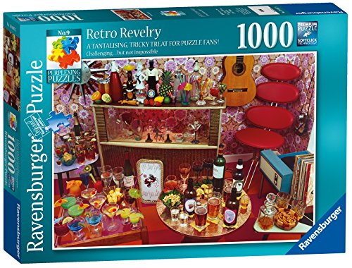 Ravensburger Perplexing Puzzles No.9 - Retro Revelry, 1000 Piezas Puzzles de Sierra