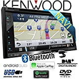 Kenwood DNX5180DABS - 2-DIN DAB+ Autoradio mit Navigation und Apple CarPlay / Android Auto / Bluetooth / Spotify / Waze Link / HDMI