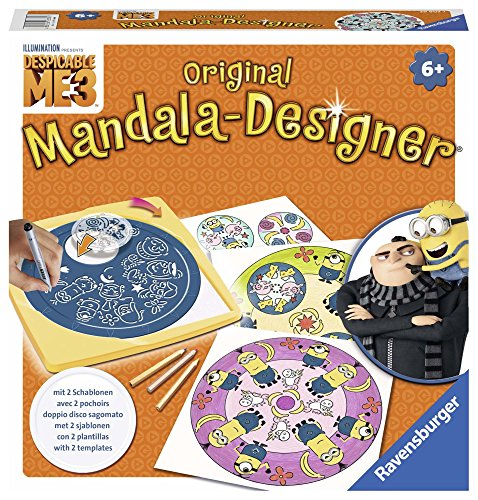 Ravensburger 29996 – Mandala Designer Midi – Minions