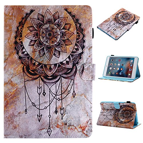 UK-Cherry iPad 2018 Funda,Voltear Funda Protectora iPad 2017,Atrapasueños Retro