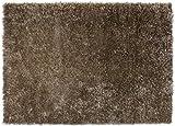 Handgefertigter Teppich Cool Glamour in Braun Teppichgröße: 170 x 240 cm