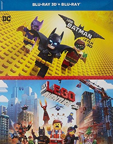 Lego Batman, le film + La Grande Aventure Lego - Coffret Blu-ray 3D - DC COMICS [Blu-ray 3D, Blu-ray]