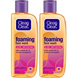 Clean & Clear Foaming Face Wash, 150ml (Pack Of 2)