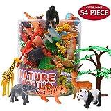 Conjunto de Juguetes Animales de Mini Selva de 54 Piezas,Favoritos de...