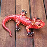 Old Tupton Ware - Lizard - Red Orange