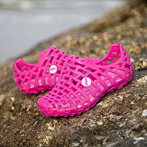 Xing Lin Chaussures DÉté Hommes LÉté De Nouvelles Chaussures Couple Respirant Anti-Dérapant Sandales Hommes Et Femmes Été Plage Marée Marée Chaussures Chaussures Rose red