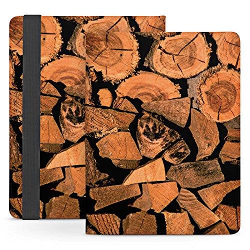 Lenovo IdeaPad K1 Wi-Fi Stand Up Tasche Bag Hülle - gestapeltes Holz (Gestapelte Holz)