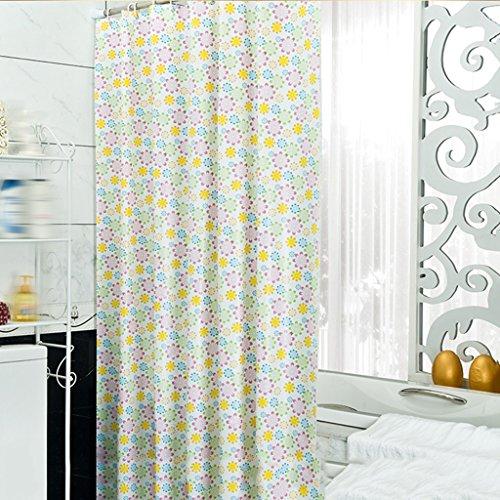 Rideaux de douche Rideau de douche PVC Salle de bain imperméable Baignade Salle de bain Mode confortable Belle Durable ( taille : 180X240CM )