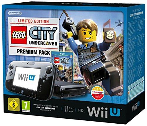 Console Nintendo Wii U 32 Go noire + Lego City : Undercover – édition limitée premium pack
