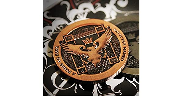 voller Dollar f/ür echte M/ünze Zaubertrick Ellusionist Artefakt M/ünze r2 Kupfer