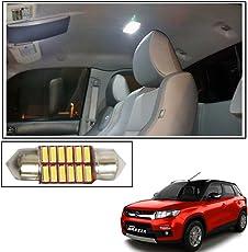Vheelocityin 12 LED Roof Light Car Dome Light Reading Light For Maruti Suzuki Vitara Brezza