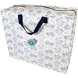 Rex London - Riesentasche, Aufbewahrungstasche, XXL Tasche mit Reißverschluss - Sloth -Faultier