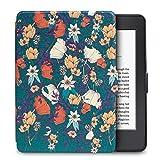 WALNEW Amazon Kindle Paperwhite Hülle, Leichteste und Dünnste Hochwertige Lederhülle für Kindle Paperwhite mit Automatischer Aufwach/Ruhe-Funktion