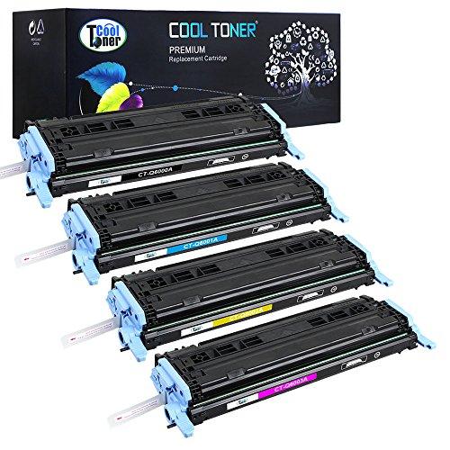 Cool Toner kompatibel Toner fuer Q6000A Q6001A Q6002A Q6003A(HP 124A) fuer HP...