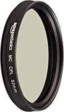 AmazonBasics Circular Polarizer Filter- 52 mm