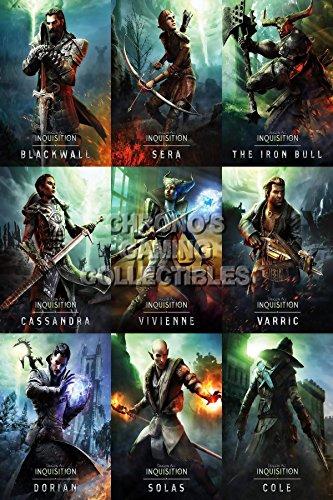 CGC Große Poster–Dragon Age Inquisition Figuren–PS3PS4Xbox 360ONE–dai004, Papier, 16