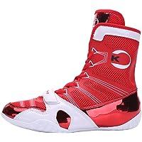Scarpe High Top Boxe per Gli Uomini Wrestling Scarpe Leggere Bodybuilding Pesi Scarpe Antiscivolo Athletic Sneaker