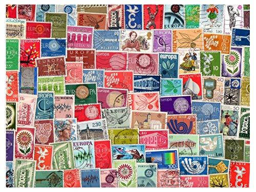Pghstamps europa cept 500 francobolli differenti collezione per collezionisti