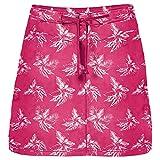 Jack Wolfskin Damen Pomona Tropical Skort 48 Tropic Pink All Over