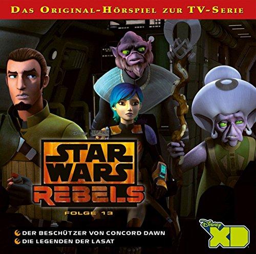 Star Wars Rebels - Hörspiel, Folge 13: Der Beschützer von Concord Dawn