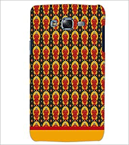PrintDhaba Lord Ganesh Pattern D-1551 Back Case Cover for SAMSUNG GALAXY ON 5 (Multi-Coloured)