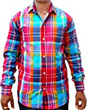 Purnima Men's Casual Shirt (100139_Multi...