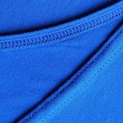Musclealive Uomo Bodybuilding Canotta Stringer Veste Cotone MA Black+White+Blue