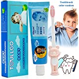 Dentifrice Enfant, Dentifrice pour Enfants, Dentifrice pour bébés, Dentifrice Goût Pomme, Assurer une nouvelle...