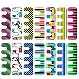 Thinkmax 100weichem EVA Schwamm Finger Separator Fuß Pediküre Zehentrenner, Druck DIY Nail Art Tools für Home/Living Daisy Salon–Farbe Zufällige