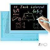 Tableta de Escritura LCD 16 Pulgadas,Erasable Reusable Doodle Pad Tablet for Kids and Adults at Home, School, Office