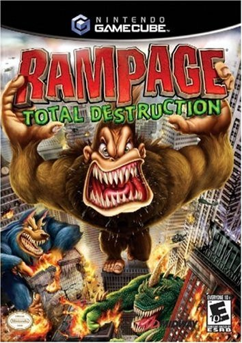 Rampage Total Destruction Gamecube (Renewed)