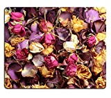 Liili Mouse Pad Natural Rubber Mousepad IMAGE ID: 19881452 Close up of a potpourri of colorful dried roses