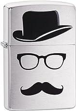 Zippo Faceless Lighter (Brushed Chrome)