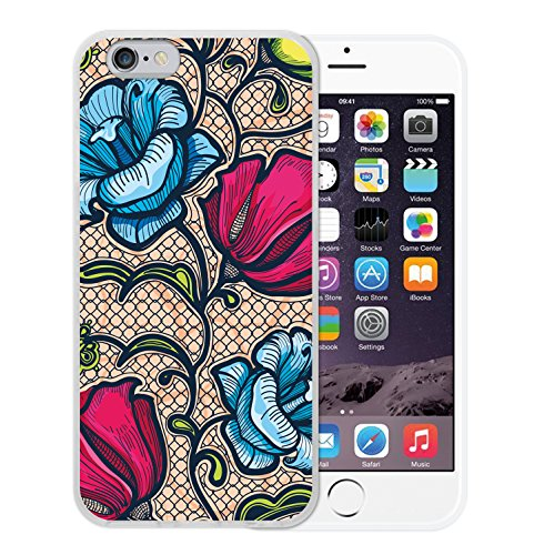 iPhone 6 6S Hülle, WoowCase Handyhülle Silikon für [ iPhone 6 6S ] Kosmischer Lippensatz - Good Girls do Bad Things Sometimes Handytasche Handy Cover Case Schutzhülle Flexible TPU - Transparent Housse Gel iPhone 6 6S Transparent D0551