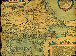 Puzzle 2000 pièces - Carte de la Thrace Antique indiquant la Province d'Europe, IVe Siècle