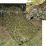Elecfan Filet de camouflage de chasse pour la forêt 2mx3m, 2mx4m, 3mx3m, 3mx4m, 4mx5m, 6mx6m, A01, 3M*4M