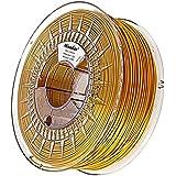Minadax® 1kg Premium Calidad 3mm (2,85mm) PLA de filamento Dorado para Impresoras 3d fabricado en Europa