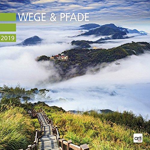 Wege und Pfade 2019 - Broschurkalender: Jahreskalender