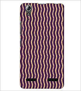 PrintDhaba Pattern D-5921 Back Case Cover for LENOVO A6000 (Multi-Coloured)