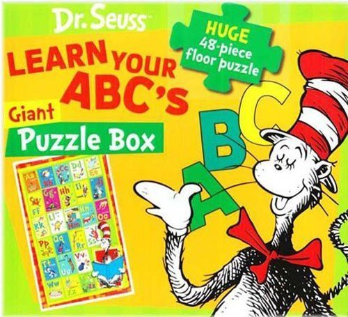 (Learn Your ABC's With Cat in the Hat: 48 Pieces Floor)