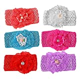 #7: Baby Premium Quality Girls Elastic Hairband Pack Of 6 (Big Size)