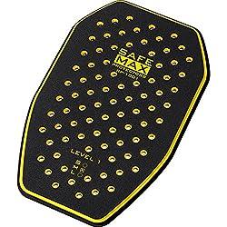 Safe Max Motorrad Rückeneinsatzprotektor RP-1001 Rückenprotektor Einsatz, 3-lagig, Schutzkl.1 gelb M