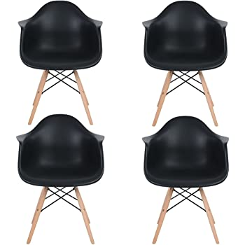 Eggree Lot De 4 Scandinave Chaises De Salle A Manger Chaise De Salon