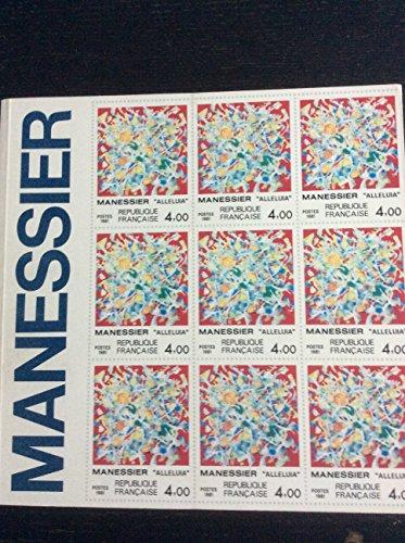 Manessier : 19 dcembre 1981-24 janvier 1982, Galerie du Messager, Muse de la poste... Paris